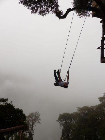 La casa del árbol en Baños, ecuador