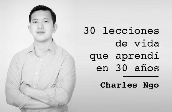 Portada 30 lecciones de vida de Charles Ngo
